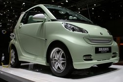 Brabus Smart in mattem pastell